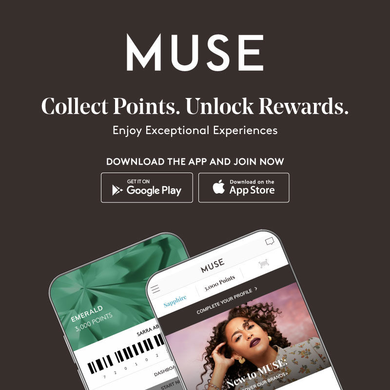 DISCOVER THE MUSE LOYALTY APP