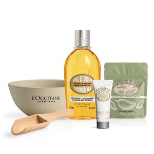 Almond Shower and Body Care Set