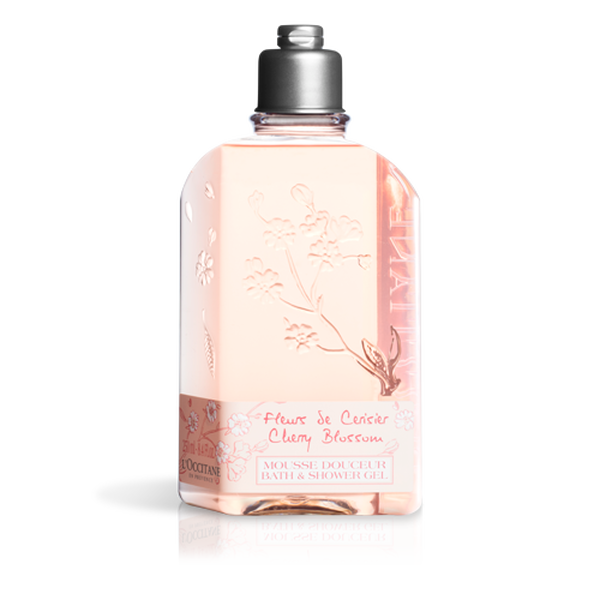 Cherry Blossom Bath & Shower Gel, 250ml