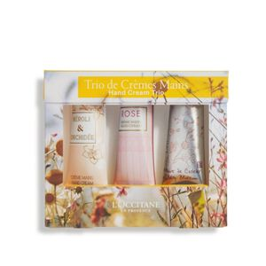 Floral Favorites Hand Cream Trio