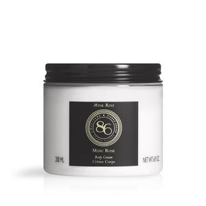 86 Intense Musk Rose Body Cream