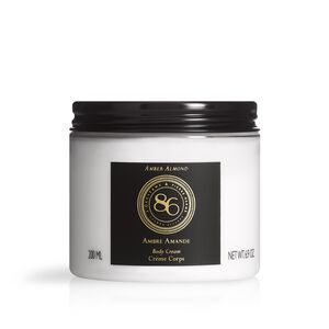 86 Intense Amber Almond Body Cream